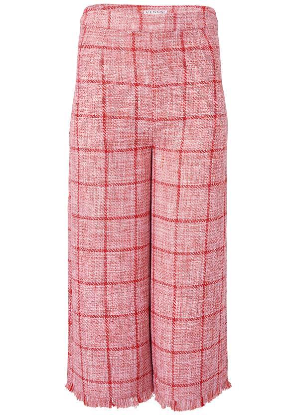 Alternate View Wide Leg Tweed Pants