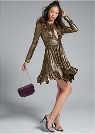 Alternate View Liquid Metallic Dress