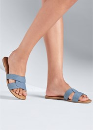 Alternate View Denim Sandal