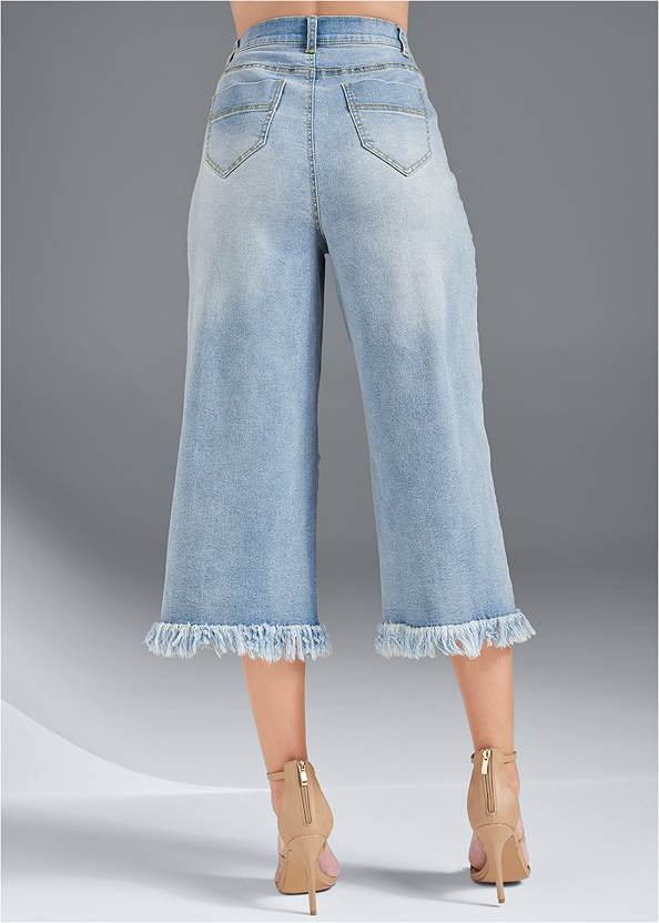 Back View Pocket Detail Jeans