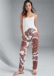 Alternate View Paisley Printed Pants