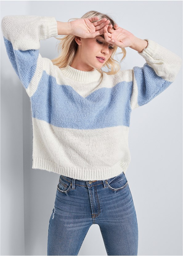 Oversized Sweater,Denim Sandal,Push Up Bra Buy 2 For $40