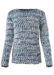 Alternate View Marled Yarn Sweater