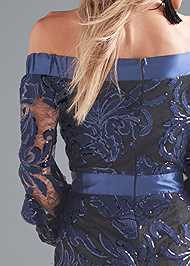 Alternate View Sequin Gown