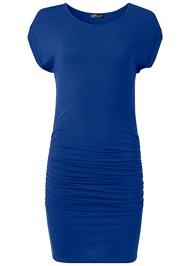 Alternate View Ruched T-Shirt Dress