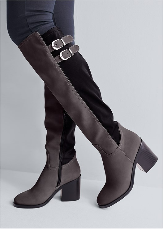 STRETCH BACK BOOTS