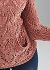 Alternate View Chenille Hooded Sweater