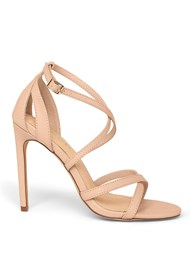 Shoe series side view Strappy Heels