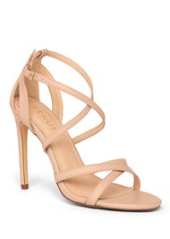 Shoe series 40° view Strappy Heels