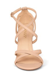 Shoe series front view Strappy Heels