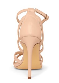 Shoe series back view Strappy Heels
