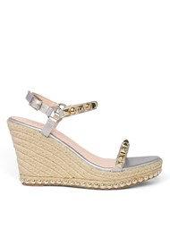 Shoe series side view Embellished Wedge