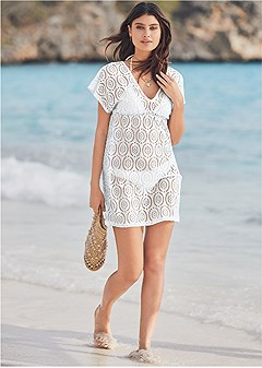crochet dolman cover-up