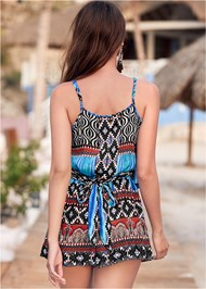 Back View Jewel Romper Cover-Up