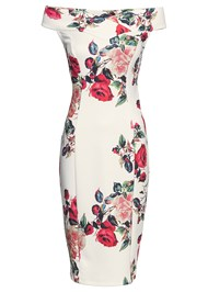 Alternate View Floral Bodycon Dress