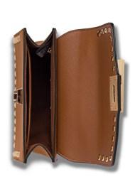 Flatshot open view Stud Detail Handbag