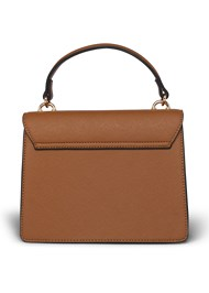 Flatshot back view Stud Detail Handbag