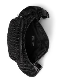 Flatshot open view Embellished Fanny Pack