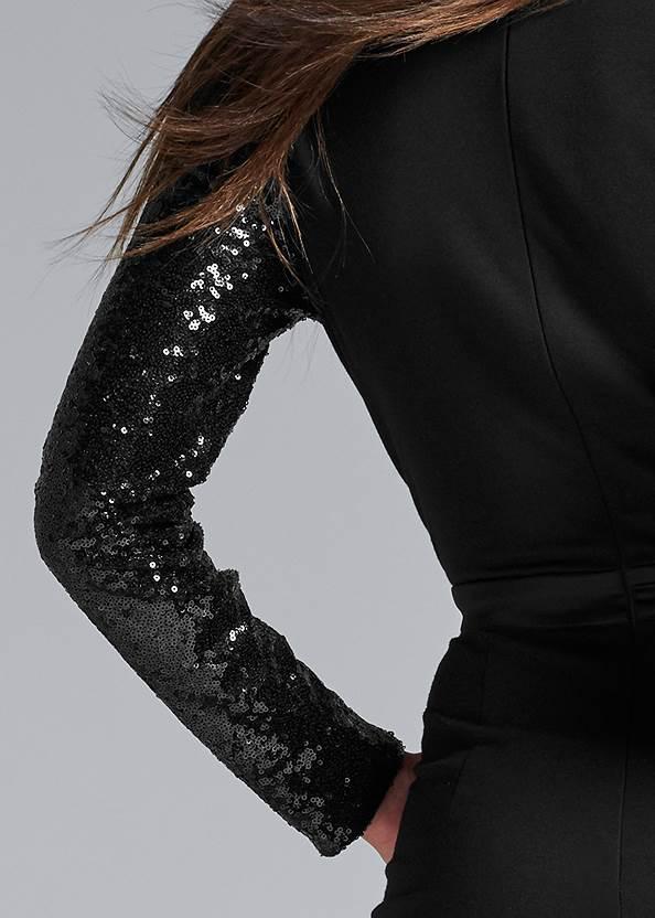 Detail back view Sequin Jumpsuit