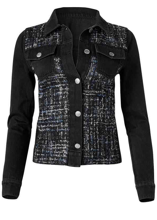 Alternate View Denim And Tweed Jacket