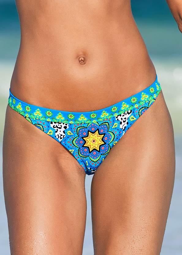Alternate View Flirty Banded Bikini Bottom
