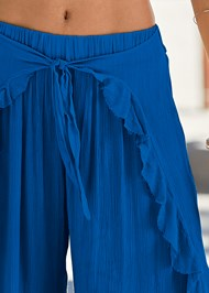 Alternate View Ruffled Flowy Cover-Up Pant
