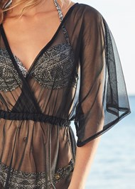 Alternate View Sheer Cover-Up Dress