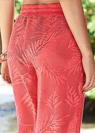Alternate View Lace Detail Cover-Up Pant