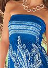 Alternate View Bandeau Maxi Dress Cover-Up
