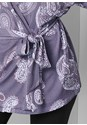 Alternate View Lace Detail Robe