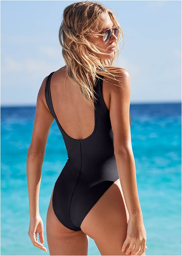 Back View Fun Sexy Style One Piece
