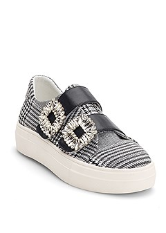 double strap sneaker