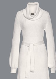 Alternate View Cowl Neck Sweater Dress