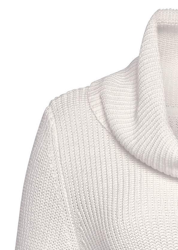 Alternate View Cowl Neck Sweater Dress