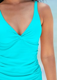 Alternate View Underwire Twist Tankini Top