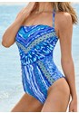 Alternate View Bandeau One-Piece