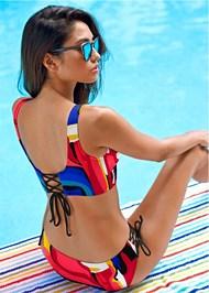 Back View Lovely Lift Wrap Bikini Top