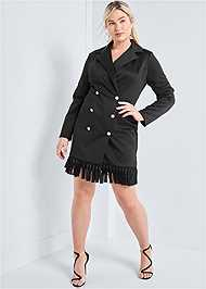 Alternate View Tassel Coat Dress