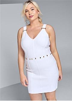 plus size slimming bodycon dress