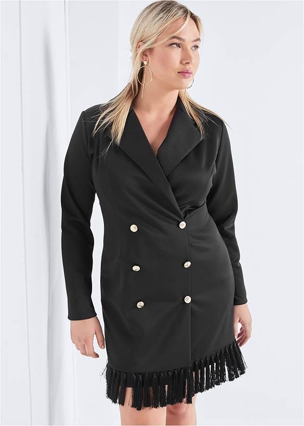 Tassel Coat Dress