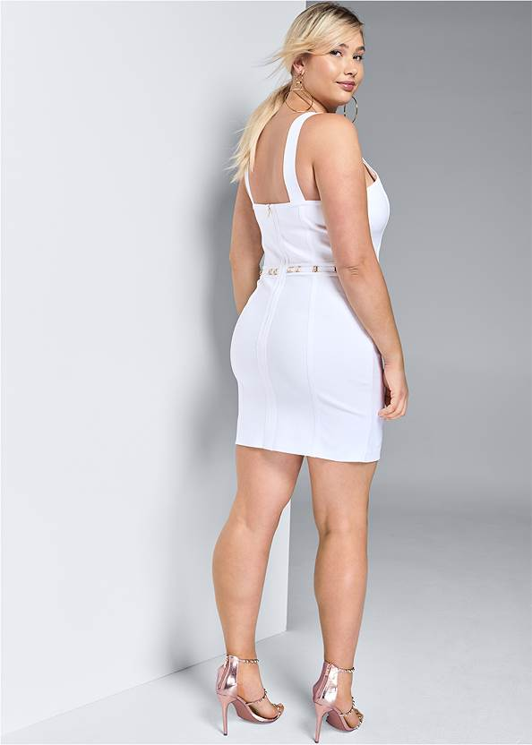 Back View Slimming Bodycon Dress