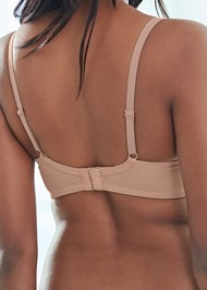 Alternate View Mesh Detail Seamless Bra