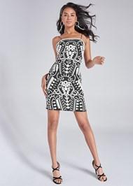 Alternate View Beaded Detail Mini Dress