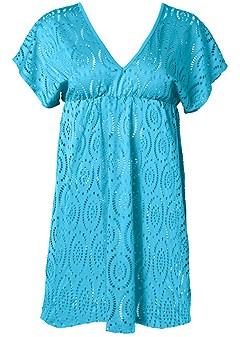 plus size crochet dolman cover-up