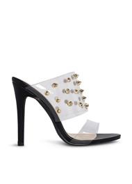 Alternate View Embellished Lucite Heel