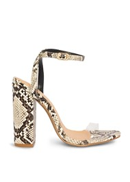 Alternate View Lucite Detail Print Heels