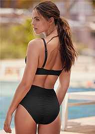 Back View Slimming Chic High Waist Bottom