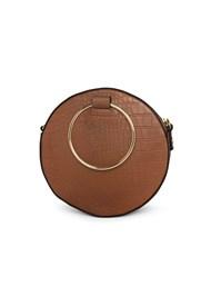 Back View Circle Ring Detail Handbag