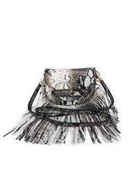 Front View Fringe Crossbody