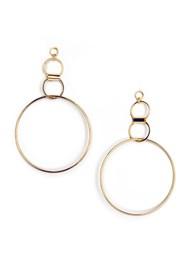 Flatshot  view Hoop Earrings